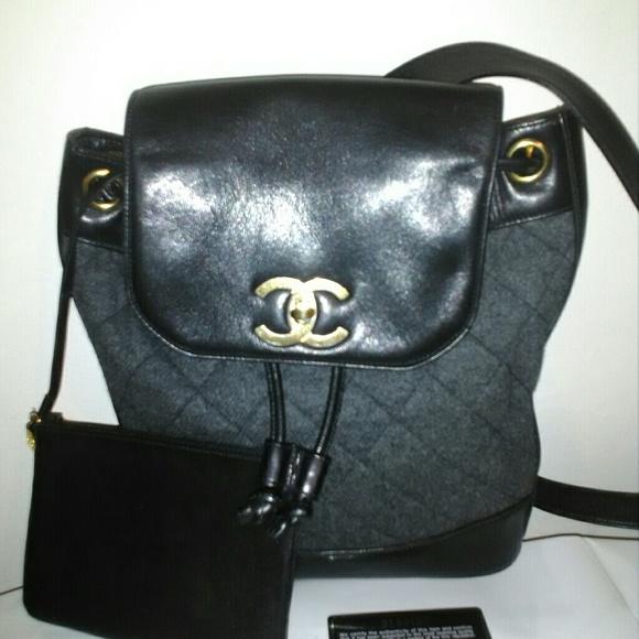 7e074e6072e7 CHANEL Handbags - SALE-Authentic RARE vintage Chanel backpack